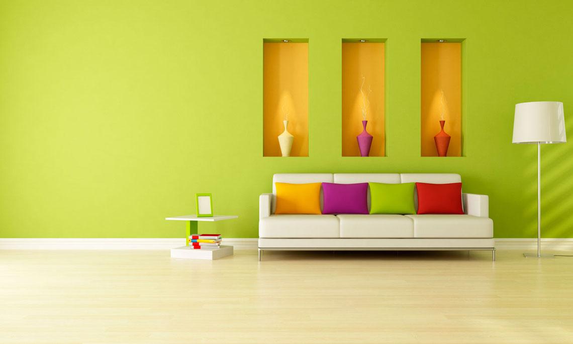 Studio del colore per interni