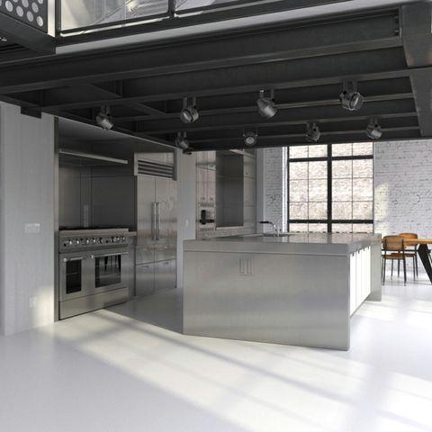 Cucine Moderne Per Loft