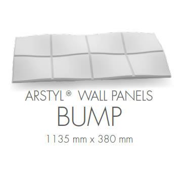 rivestimento per pareti pannello 3d poliuretano bump