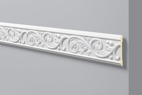 Cornici per pareti poliuretano cornici z12 nmc aldoverdi for Cornici polistirolo