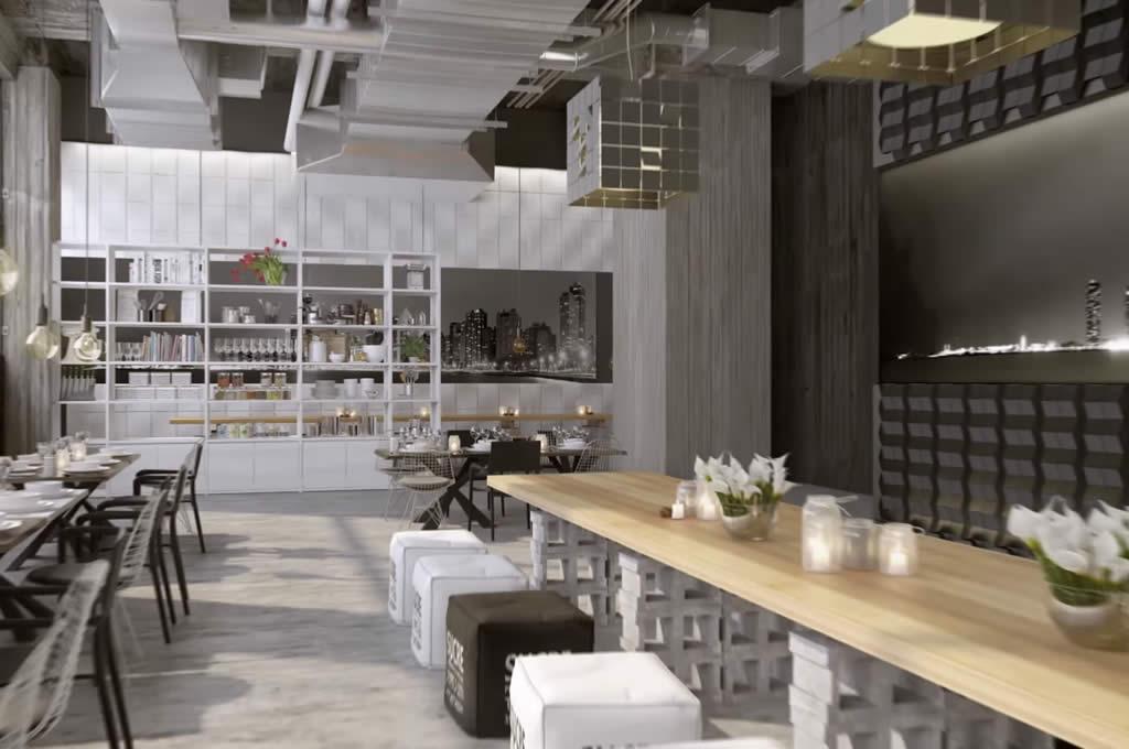 pannelli poliuretano rivestimento pareti ristorante