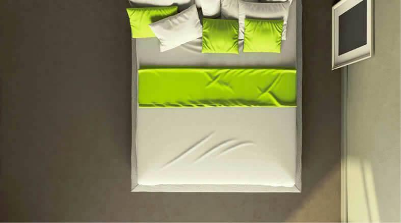 pavimenti resina camera da letto