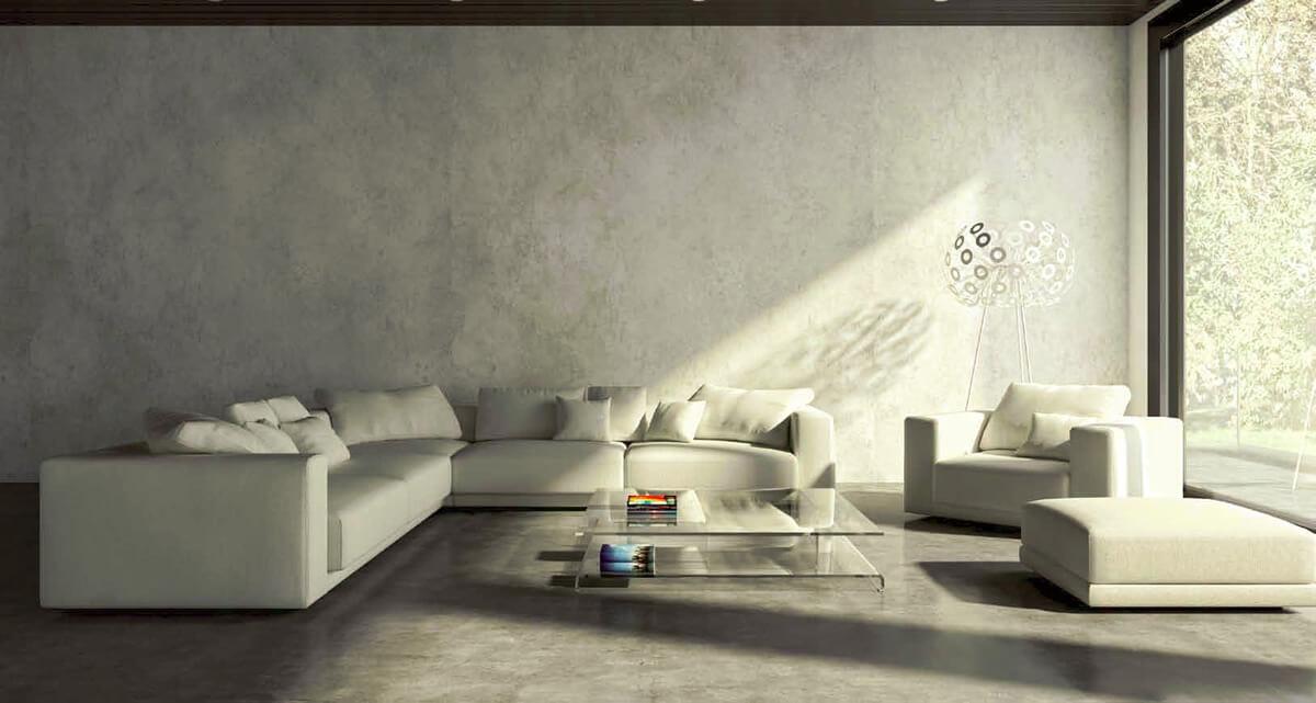 Microcemento elekta resina cemento pavimenti aldoverdi for Pavimenti per soggiorno